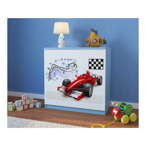 "Commode enfant 3 tiroirs collection ""F1"""