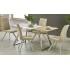 Table à manger exetnsible  130÷170 cm x 80 cm x 76 cm