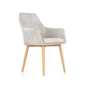 BEATRICE Lot de 2 chaises design