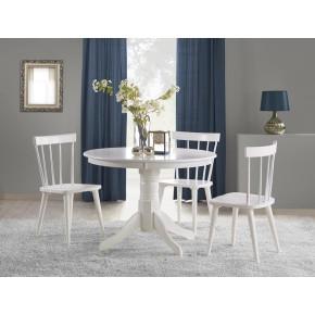 Table à manger ronde Ø : 106 cm x 75 cm