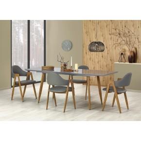 Table à manger extensible 160÷200 cm x 90 cm x 76 cm