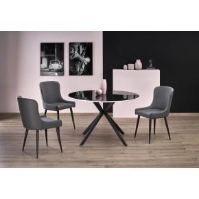 Table à manger ronde Ø : 120 cm x 75 cm