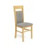 Lot de 4 chaises en bois - Aulne