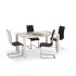 Table à manger extensible 120 cm ÷160cm x 80 cm x 75 cm