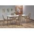 Table à manger design extensible 90÷190 cm x  80 cm x 75 cm