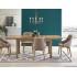 Table à manger extensible 140÷220 cm x 80 cm x 75 cm - Chêne riviera
