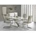 Table à manger design extensible 160÷220 cm x 90 cm x 75 cm - Gris