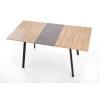 Table à manger extensible rectangulaire 120÷160 cm x 80 cm x 76 cm