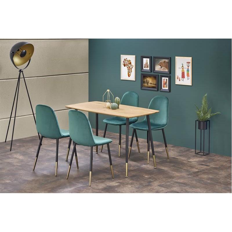Table à manger 120 cm x  70 cm x 76 cm