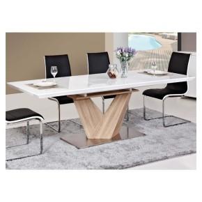 Table à manger rectangulaire extensible 140 ÷ 200 cm x 85 cm x 75 cm