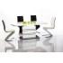 Table à manger extensible 140÷200 cm x 85 cm x 76 cm - Blanc