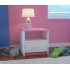 Table de chevet enfant - Rose